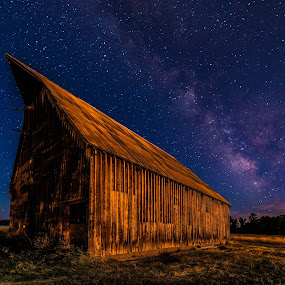 The Old Barn and The Milky Way by Craig Turner - Buildings & Architecture Other Exteriors ( ca, golden gate bridge, mountain, northern california, sea guls, travel, beach, birds, sky, tree, nature, oakland, snow, tropical ocean, grass, california, journey, horizon, forest, lake, sf, bay bridge, sunlight, rural, vacation, dawn, season, bay, scene, view, natural, panoramic, port, ocean, beauty, landscape, sun, panorama, tranquil, nor cal, ecology, sf bay, evening, san francisco, golden hour, clouds, water, desert, park, waves, beautiful, sea, paradise, amazing, color, blue, sunset, outdoor, background, summer, cloud, sunrise, scenery )