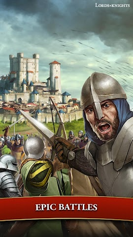 android Lords & Knights - Strategy MMO Screenshot 14