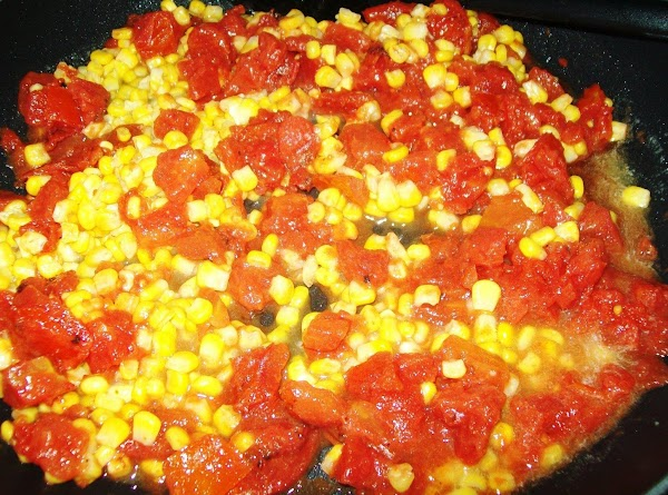 Defrost the corn, in a non stick pan get the butter melted with the...