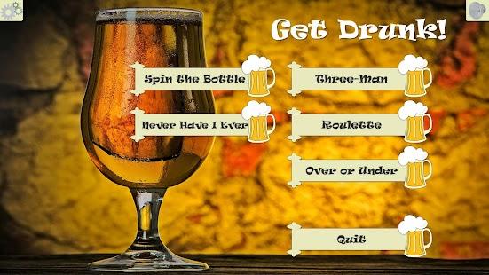 Get Drunk - Drinking games - náhled
