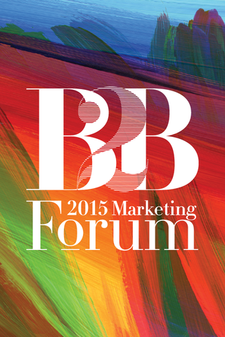 B2B Marketing Forum 2015