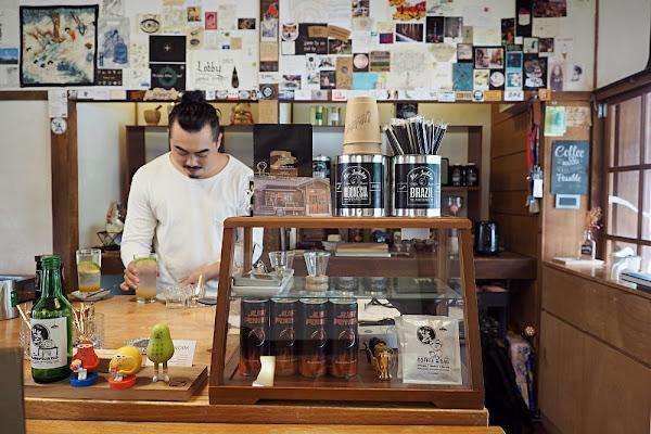 雲林斗六。Mr. Lobby Coffee Roaster・自家烘焙咖啡/日式建築/雲中文創聚落