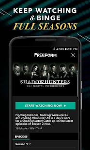 Freeform – Stream Full Episodes, Movies, & Live TV - náhled