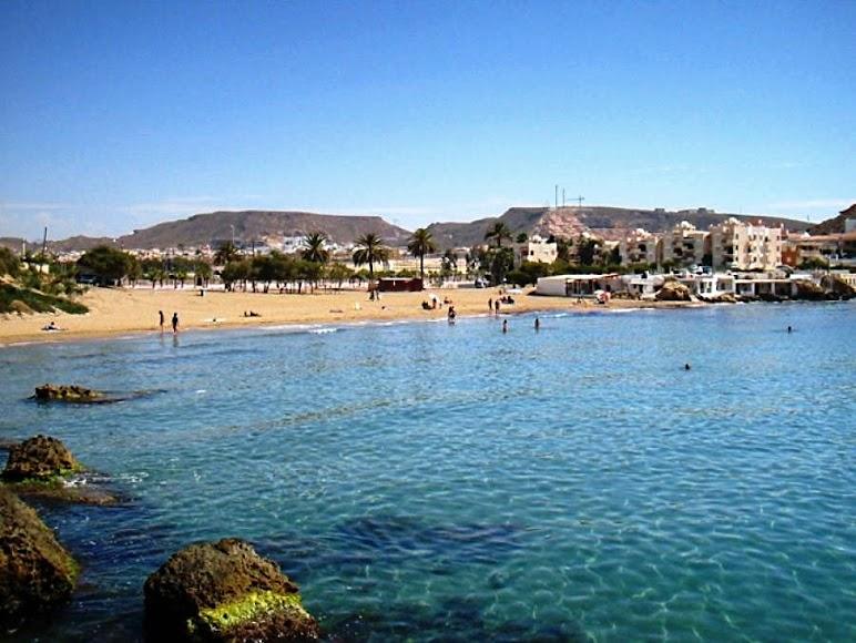 Pulpí, playa Mar Rabiosa.