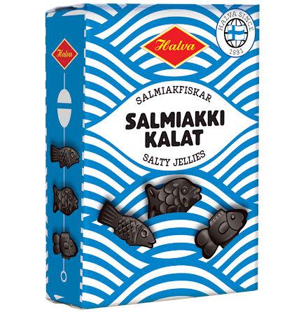 Salmiakfiskar - Salmiakki Kalat – Halva lakrits