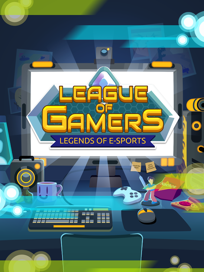 League of Gamers - Be an E-Sports Legend!- screenshot