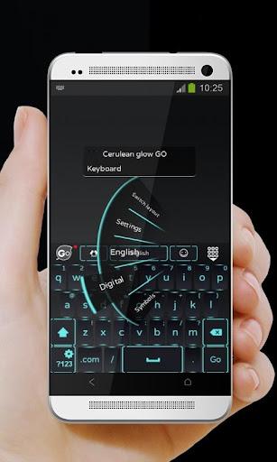 玩免費個人化APP|下載セルリアングロー GO Keyboard app不用錢|硬是要APP