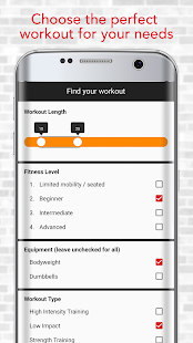 HASfit Home Workout Routines & Fitness Plans Screenshot