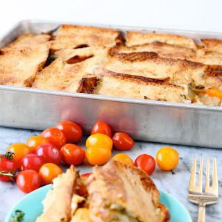 Heirloom Tomato, Kale, and Fontina Casserole