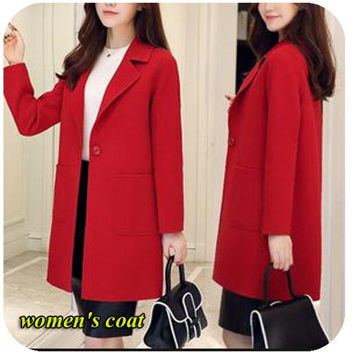 coat design of beautiful women