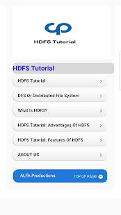HDFS Tutorial - náhled
