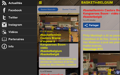 Basket in Belgium- screenshot thumbnail
