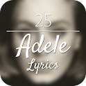 25 - Adele Lyrics icon
