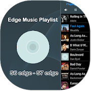 Music Playlist for Edge Panel  Icon