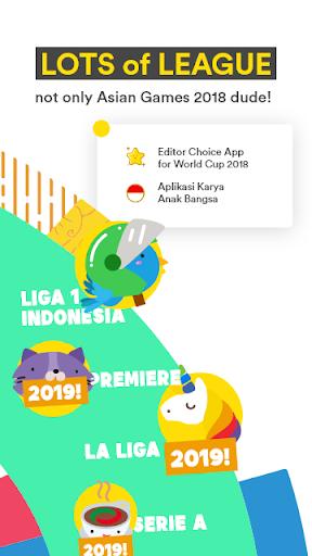 Golpanda for Asian Games 2018 & Gojek Liga Satu 1.6.2 screenshots 2
