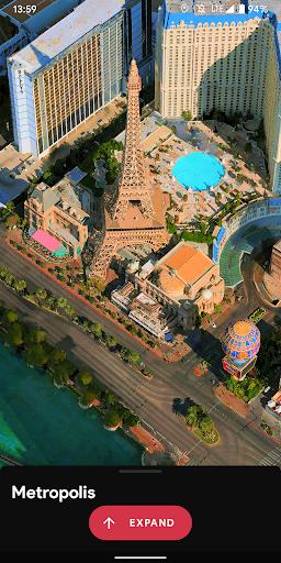 Metropolis 3D City Live Wallpaper [FREE] 🏙️ screenshot 6
