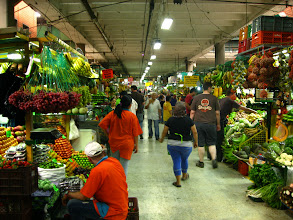 Photo: The fruit section at the Minorista market