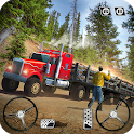 USA Truck Driving School: Off-road Transport Games icon