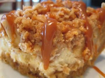 Apple Streusel Cheesecake Bars Recipe