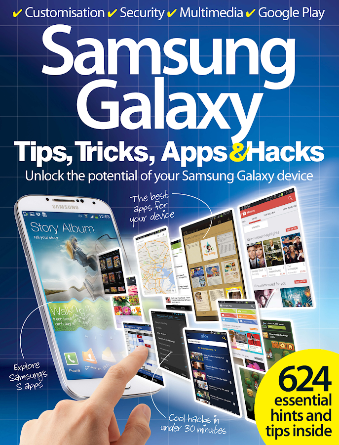 Samsung Galaxy Tips Tricks Apps and Hacks Volume 1- screenshot