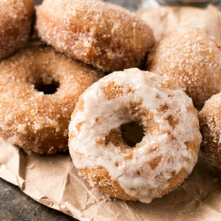 Baked Homemade Vanilla Chai Donuts