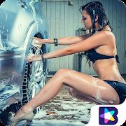 Sexy Car Girls Wallpapers HD-4K(Car Super Model)