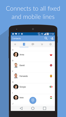 toovoip - no roaming - screenshot