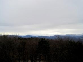 Photo: Der Schneeberg hüllt sich jedoch in Wolken.
