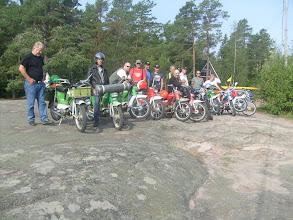 Photo: Sandösund lähtötunnelmissa 2010