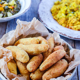 Jamaican Festival Dumplings (Vegan, Gluten-Free).