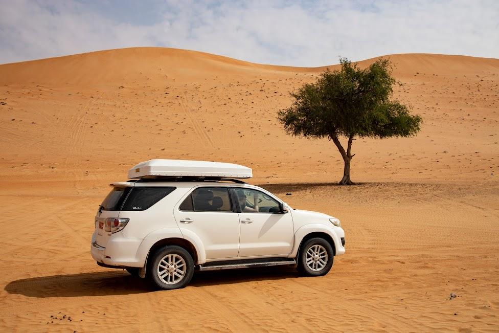 samochodem po Omanie, pustynia
