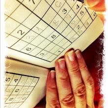 Photo: Hand sudoku #intercer #sudoku - via Instagram, http://instagr.am/p/LSiVloJfuw/
