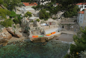 Photo: One of the coves suitable for swimming at Dubrovnik