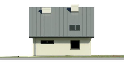 Dom przy Cyprysowej 22 - Elewacja tylna