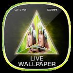 3D Prism Text Live Wallpaper Icon