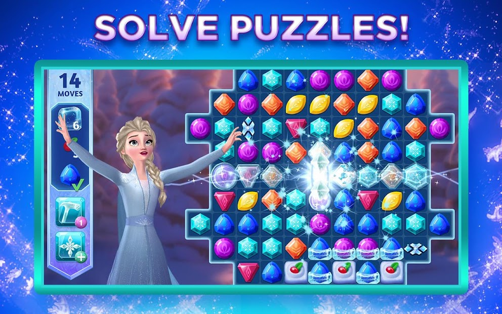 Disney Frozen Adventures: Customize the Kingdom Android App Screenshot