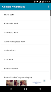 Net Banking of All Banks India - náhled