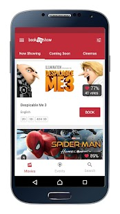 BookMyShow - Tiket Bioskop dan Event- screenshot thumbnail