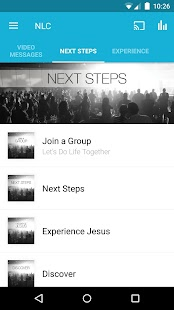 Next Level Church App- screenshot thumbnail
