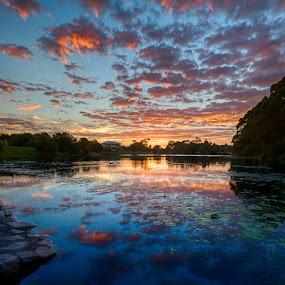 Lake 6 reflections by Daryl James - Landscapes Sunsets & Sunrises (  )