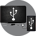 Mobile Connect To TV USB icon