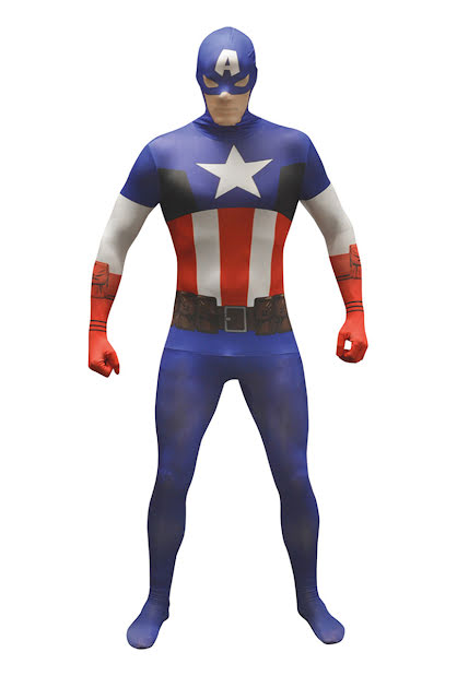 Morphsuit, Captain America