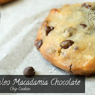 Paleo Macadamia Chocolate Chip Cookies