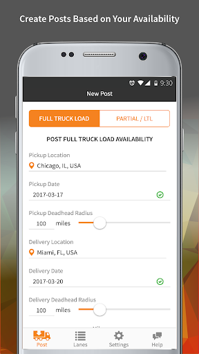 HaulHound: Trucking Loadboard & Freight Matching screenshot