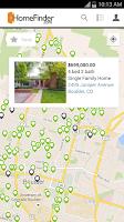 Screenshot of HomeFinder.com Real Estate
