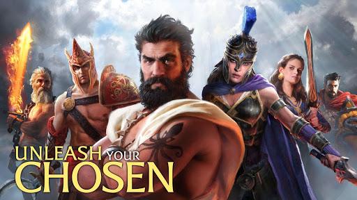 Olympus Rising: Tower Defense and Greek Gods apkmind screenshots 1