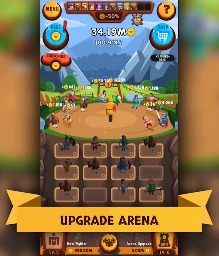 Télécharger EvoHero - Idle Gladiators apk mod screenshots 6