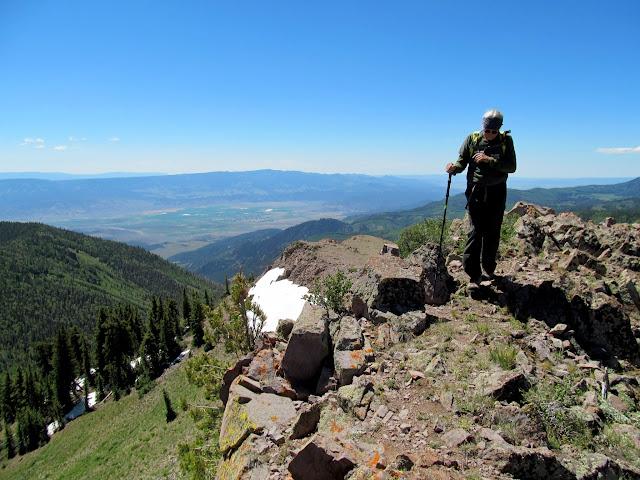 Ken on the summit