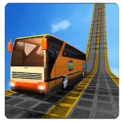 Bus Impossible Tracks Stunt Racing 3D Coach Driver