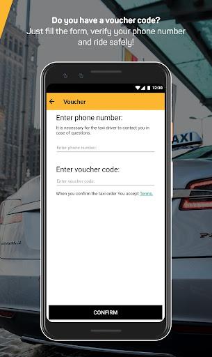 itaxi - the taxi app screenshot 2